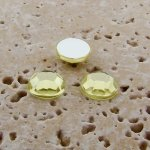 Jonquil Jewel Faceted - 5mm. Round Cabochons - Lots of 144