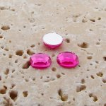 Pink Jewel Faceted - 5mm. Round Cabochons - Lots of 144