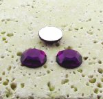 Amethyst Faceted - 5mm. Round Cabochons - Lots of 144