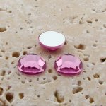 Light Pink Jewel Faceted - 5mm. Round Cabochons - Lots of 144
